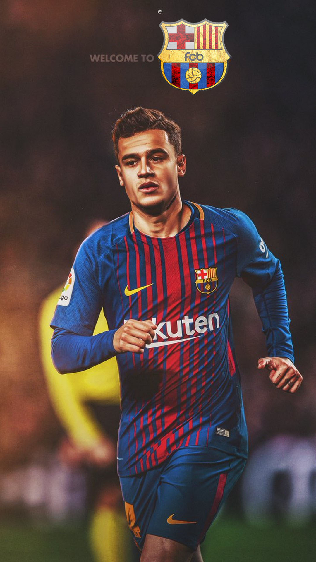 Samsung Mobile Hd Wallpapers Free Download Download Barcelona Coutinho Wallpaper Android Full Size