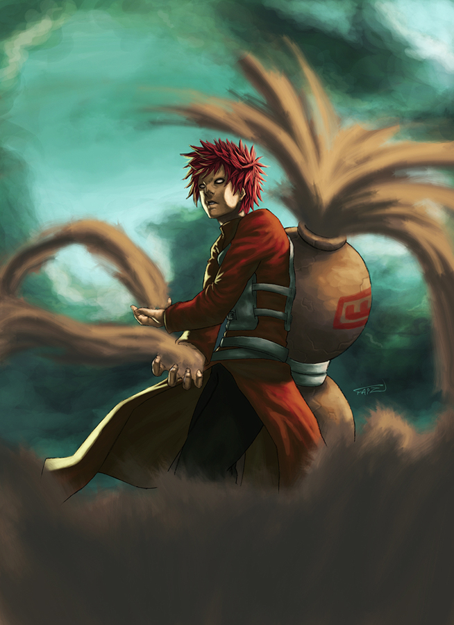 Anime Fighting Wallpaper Gaara Of The Sand 3d Pictures Wallpapers And Fanart