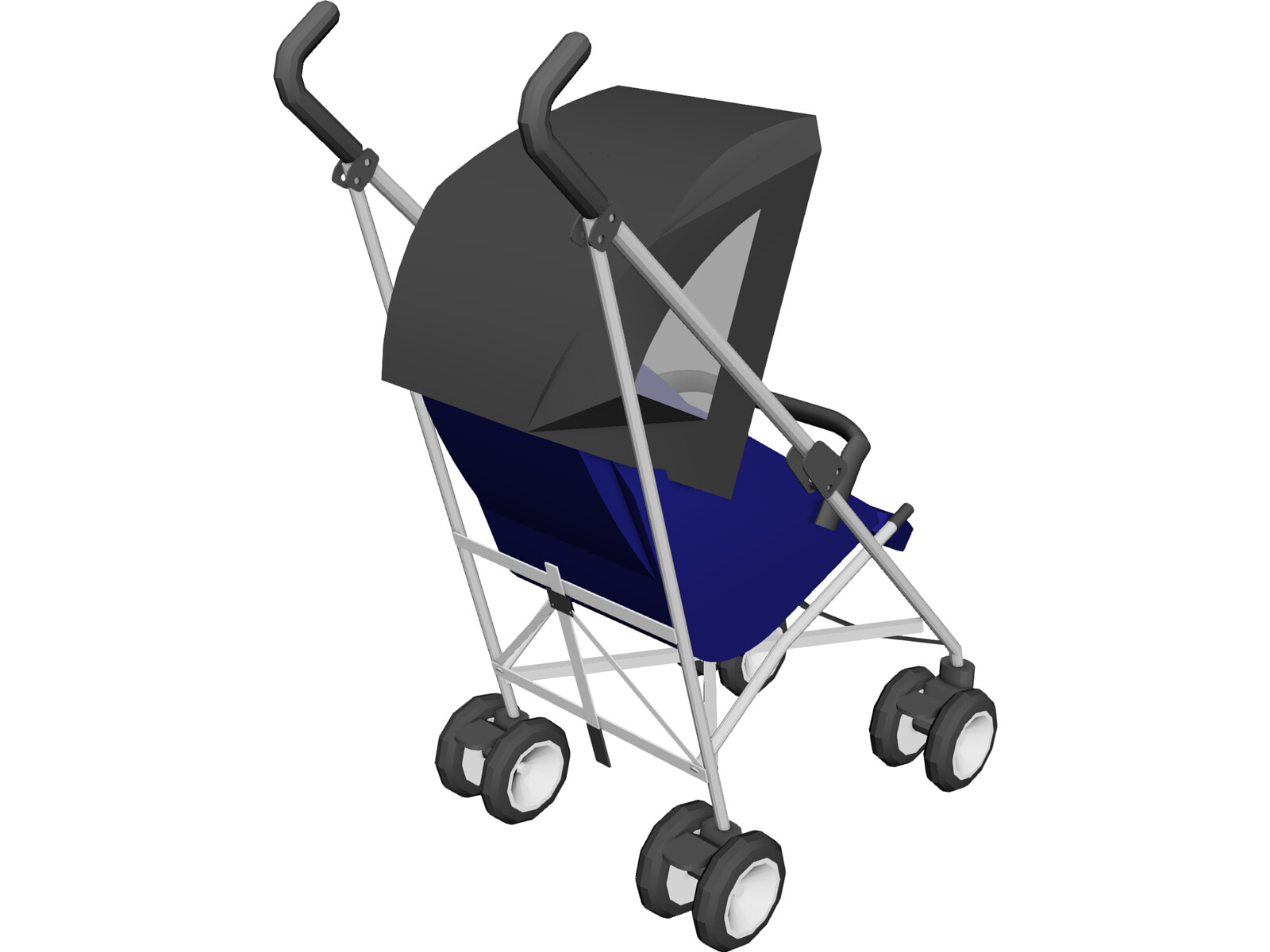 Carriage Type Strollers Quinny Stroller 3d Model 3d Cad Browser