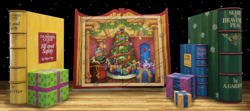 You Can Book Me Ltd Santa 39;s Magic Story Book 3d Creations