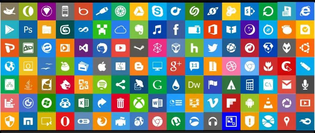725 iconos Metro de Windows 8 gratis