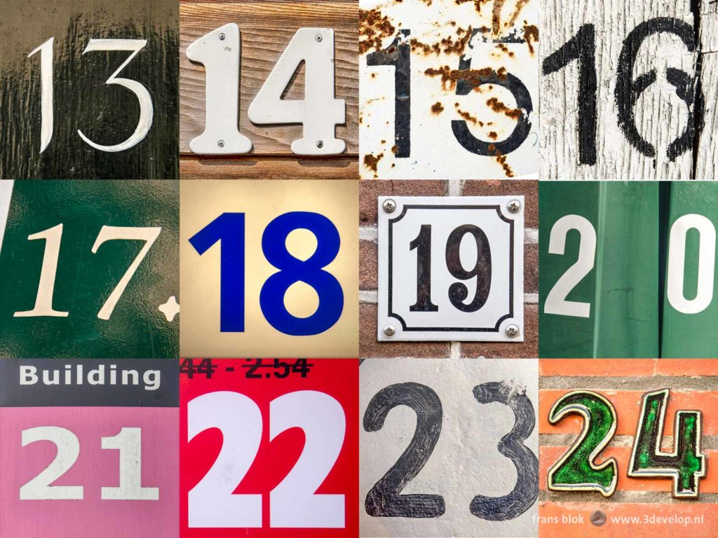 Huisnummer 13 The Numbers Challenge Pardon De Getallenuitdaging 3develop