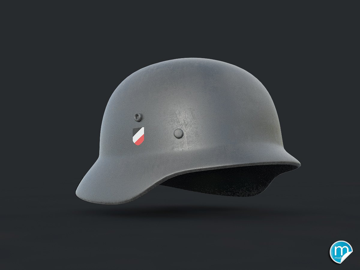 Strahlhelm Ww2 German Helmet Stahlhelm 3d Model In Combat 3dexport