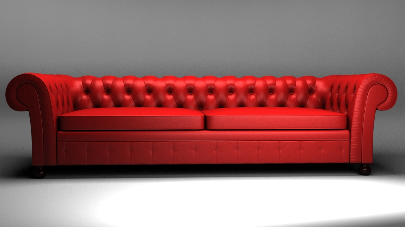Canape Sofa Chesterfield Canape 3d Model In Sofa 3dexport