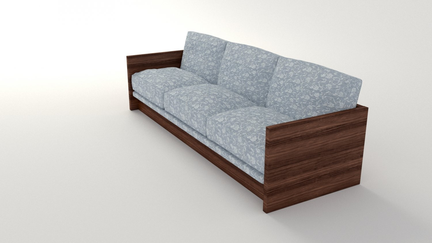Retro Sofa Wood Retro Sofa 3d Model In Sofa 3dexport
