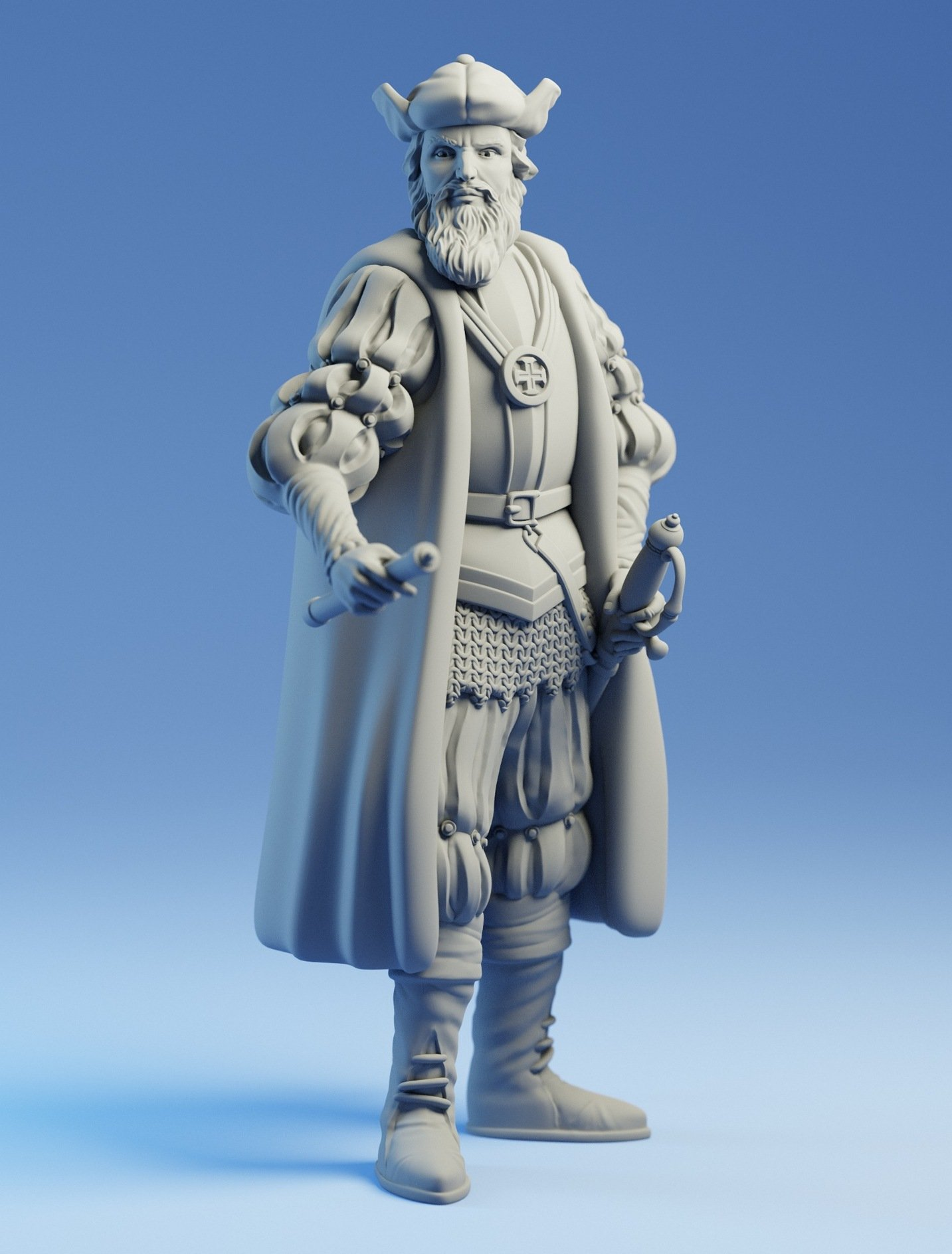 And Vasco Da Gama Vasco Da Gama Free 3d Model In Man 3dexport