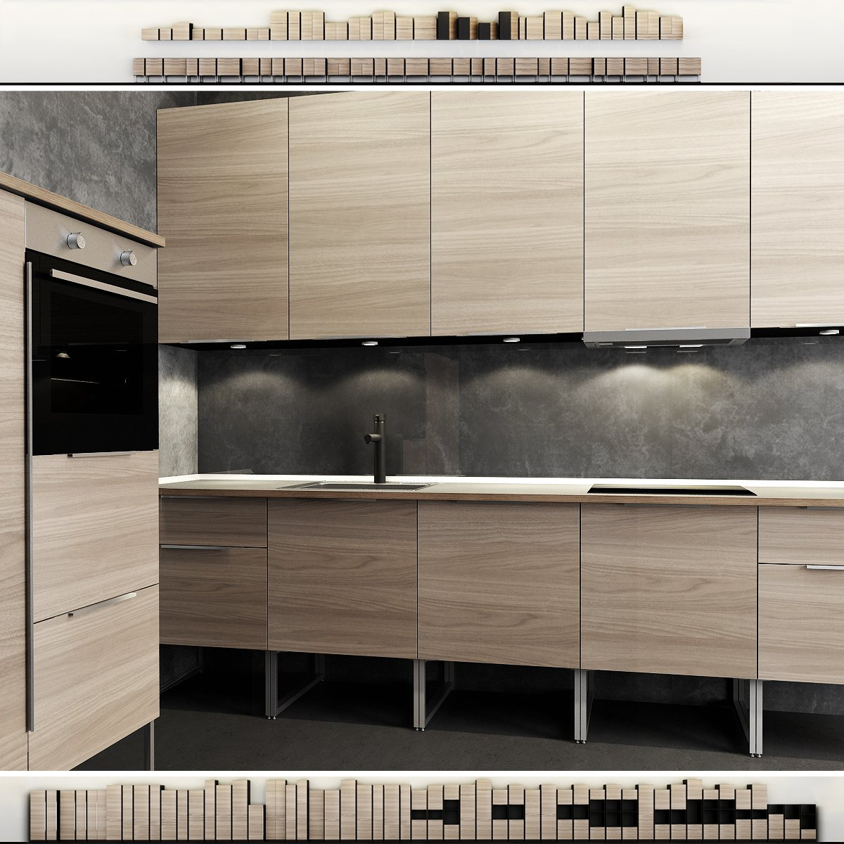 Küche Ikea Modelle Ikea Kitchen Furniture 3d Modell In Küche 3dexport