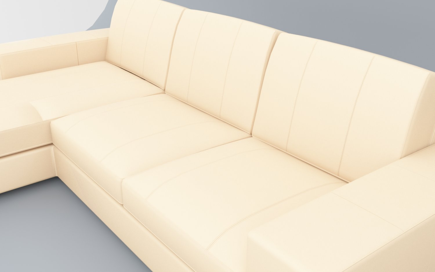 Kivik Sofa Leather Leather Sofa Kivik Ikea Low Poly 3d Model In Sofa 3dexport