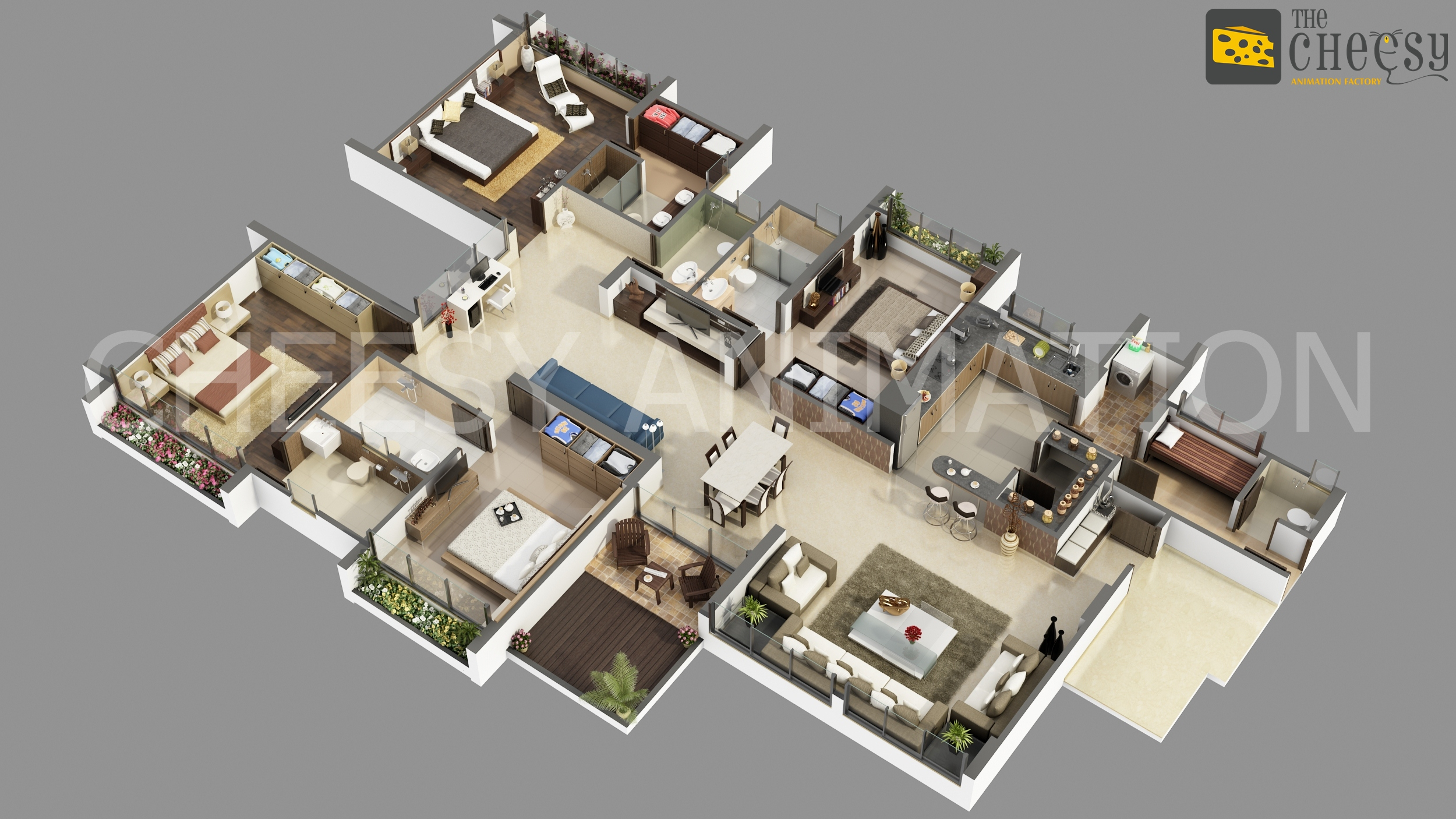 3d Planer 3d Floor Plan Company 3d Floor Plan 3d Floor Plan For