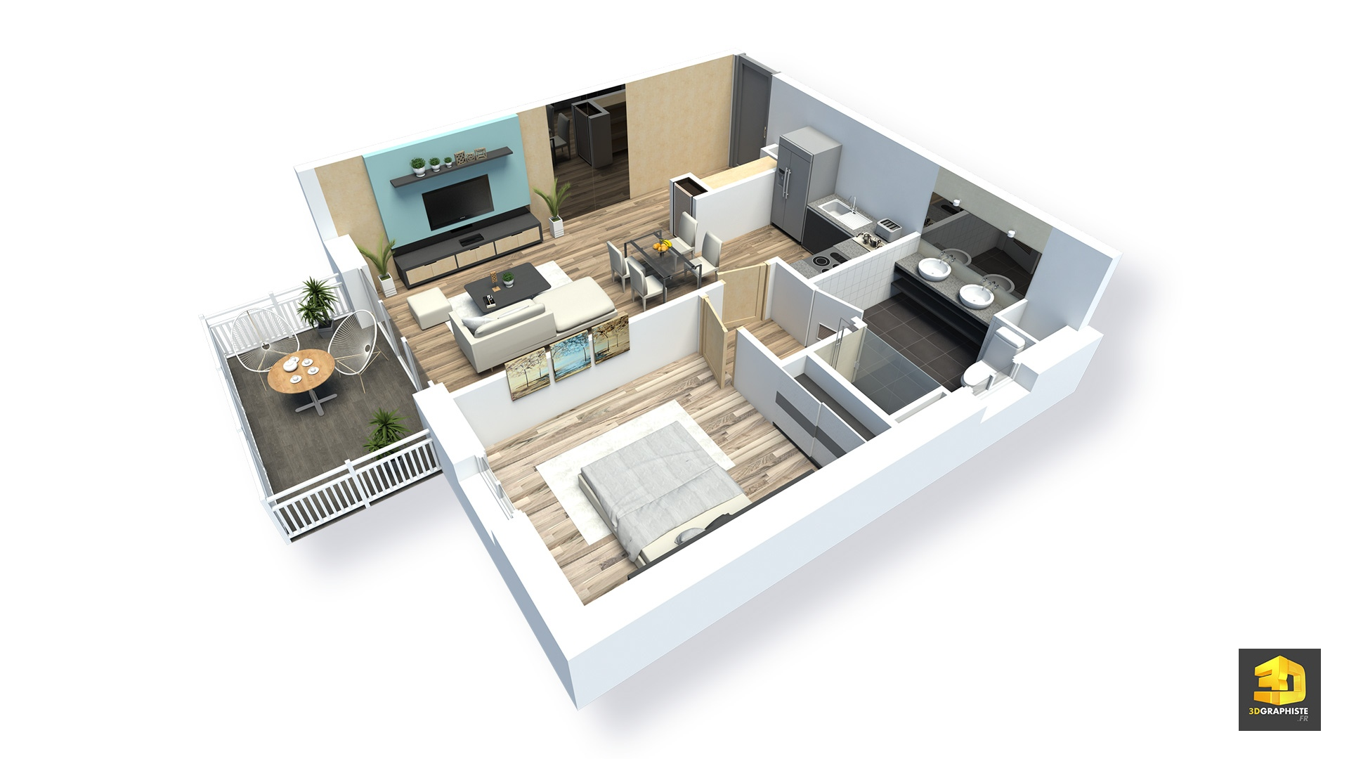 Plan D'appartement Plans De Vente D Appartements Archives 3dgraphiste Fr