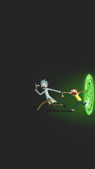 Rick and Morty iPhone Wallpaper | 2019 3D iPhone Wallpaper