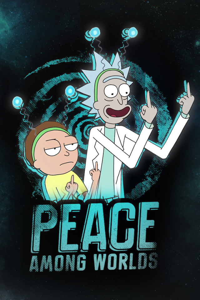 Cute Background Wallpapers For Whatsapp Wallpaper Rick And Morty Iphone 3d Iphone Wallpaper