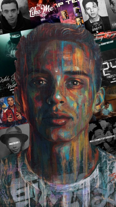 Download Logic Rapper Wallpaper For Mobile Full Size - 3D iPhone Wallpaper