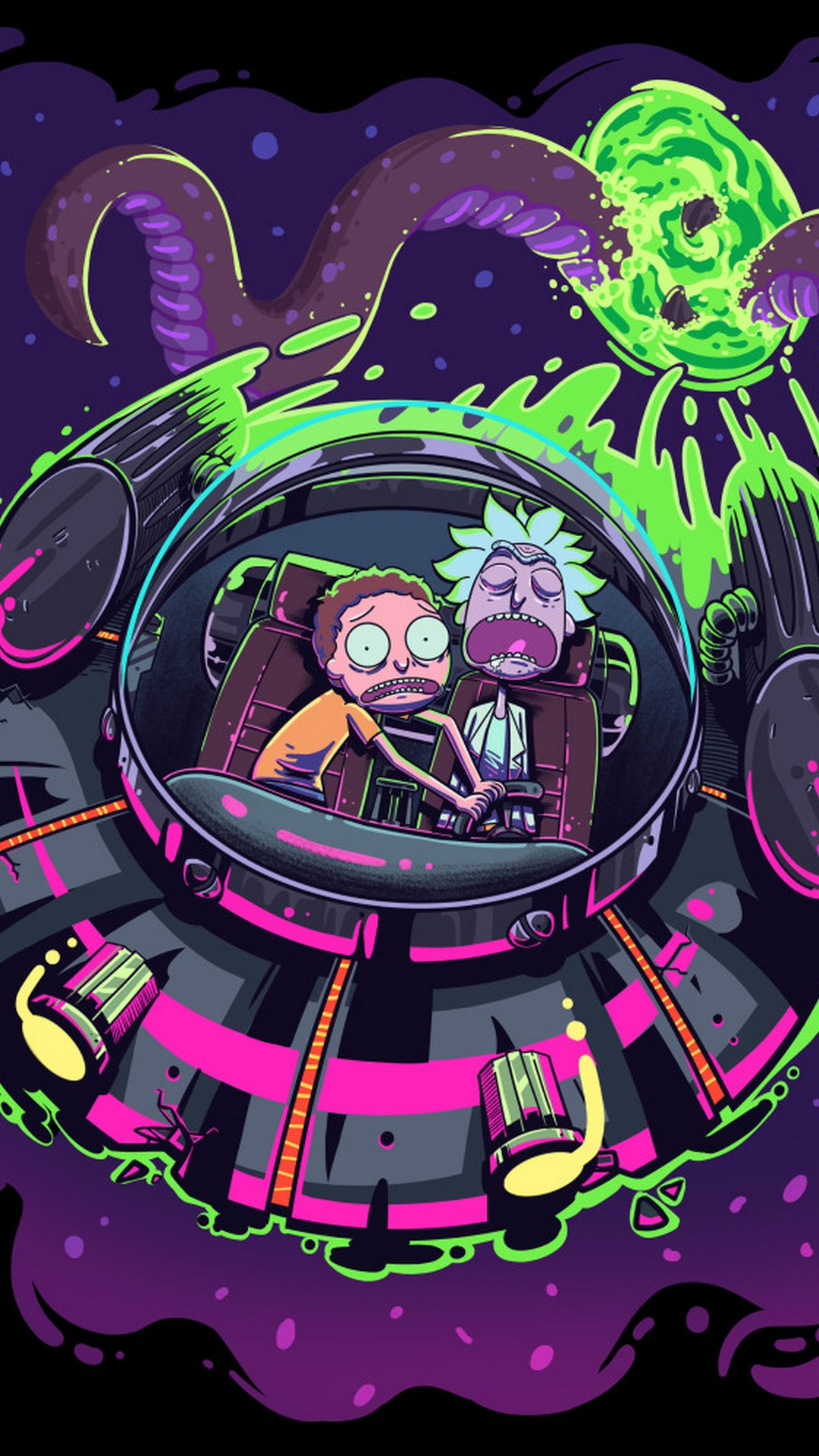 Pink Cute Wallpaper For Iphone 5 Wallpaper Rick And Morty Iphone Background 3d Iphone