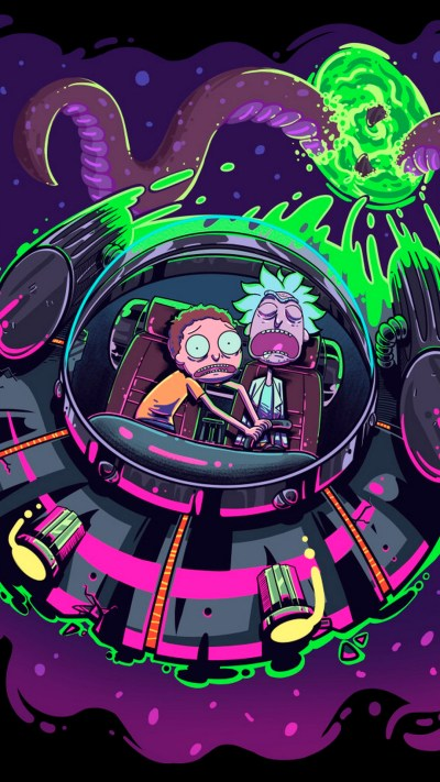 Wallpaper Rick And Morty iPhone Background - 2018 iPhone Wallpapers