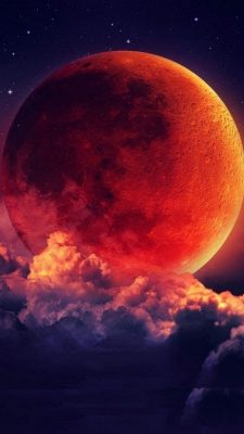 Your Name Wallpaper Iphone X Iphone X Wallpaper Super Blood Moon Lunar Eclipse 2019