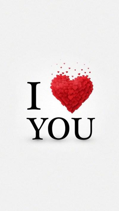 Valentine I Love You Wallpaper | 2019 3D iPhone Wallpaper