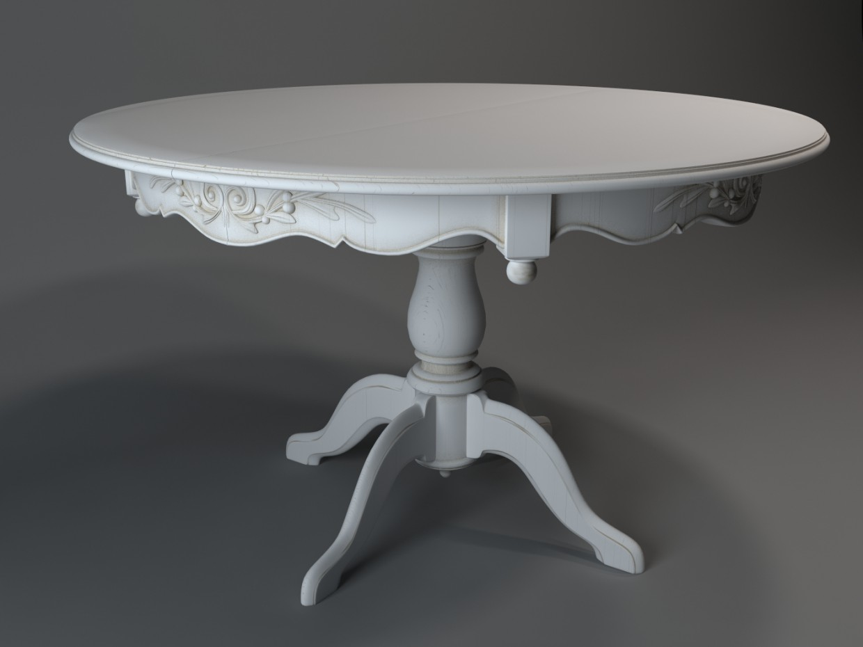 Max A Table 3d Visualization Dining Table