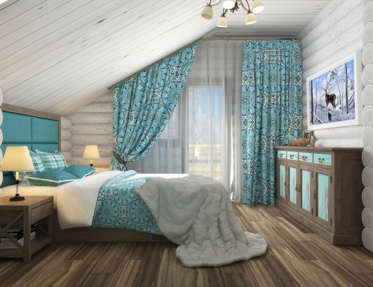 Chambre Style Chalet Bedroom Chalet Style Design And Visualization