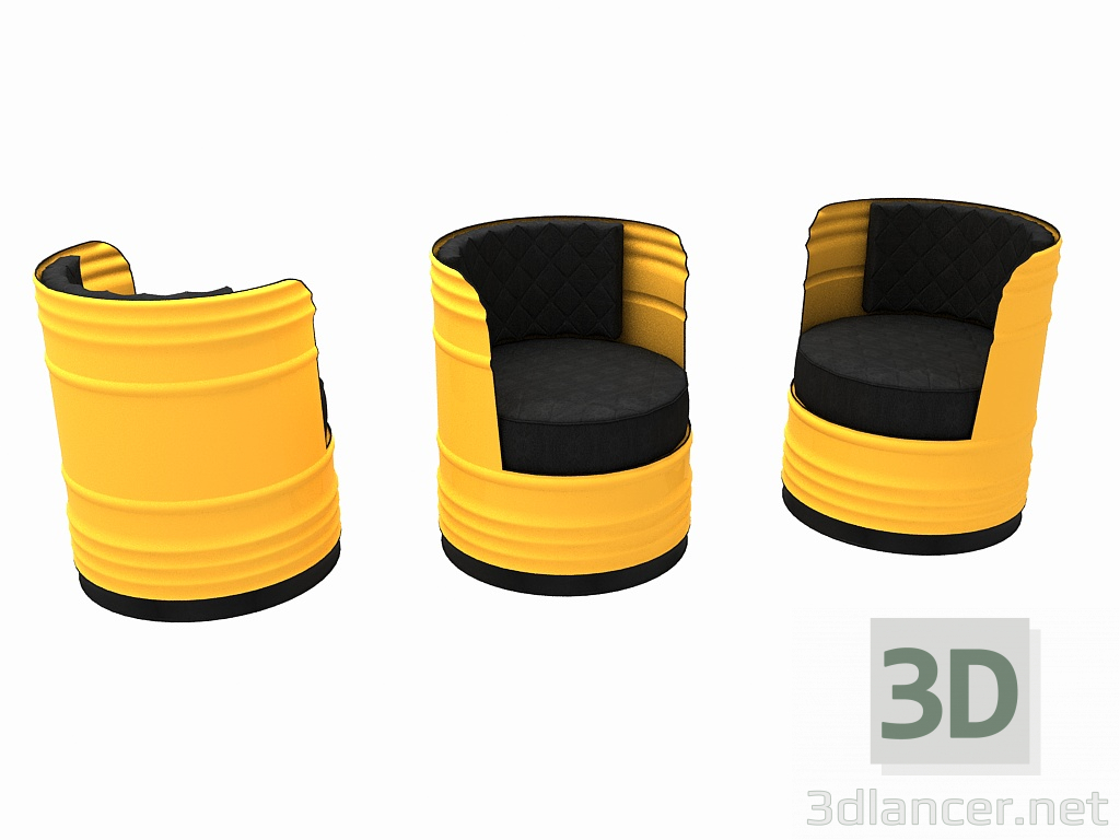Sessel 3d 3d Model Sessel Fass Max 2014 Kostenloser Download 3dlancer