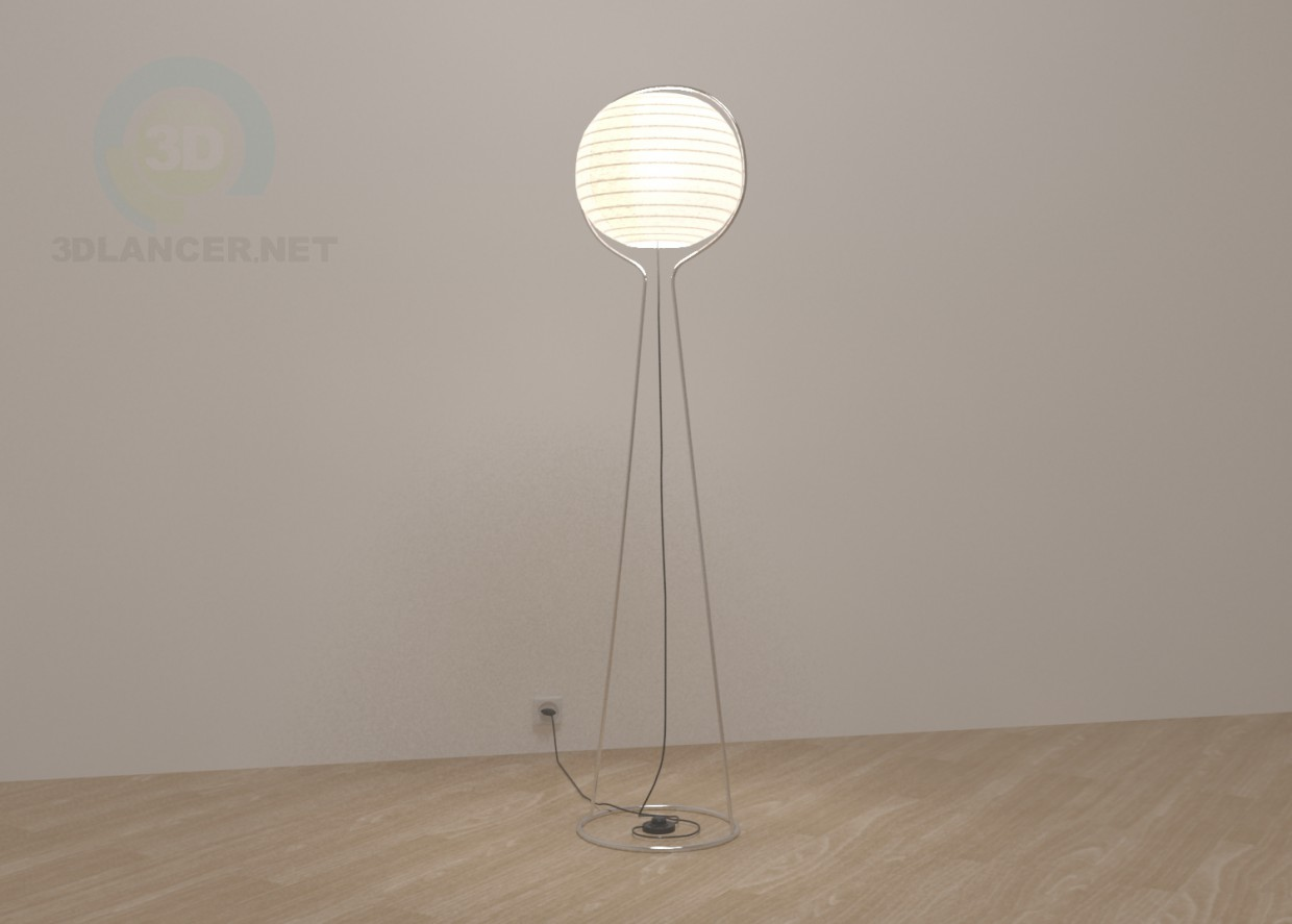High Tech Lamp 3d Model Ikea Lamp ВЭТЕ Style High Tech Download For Free