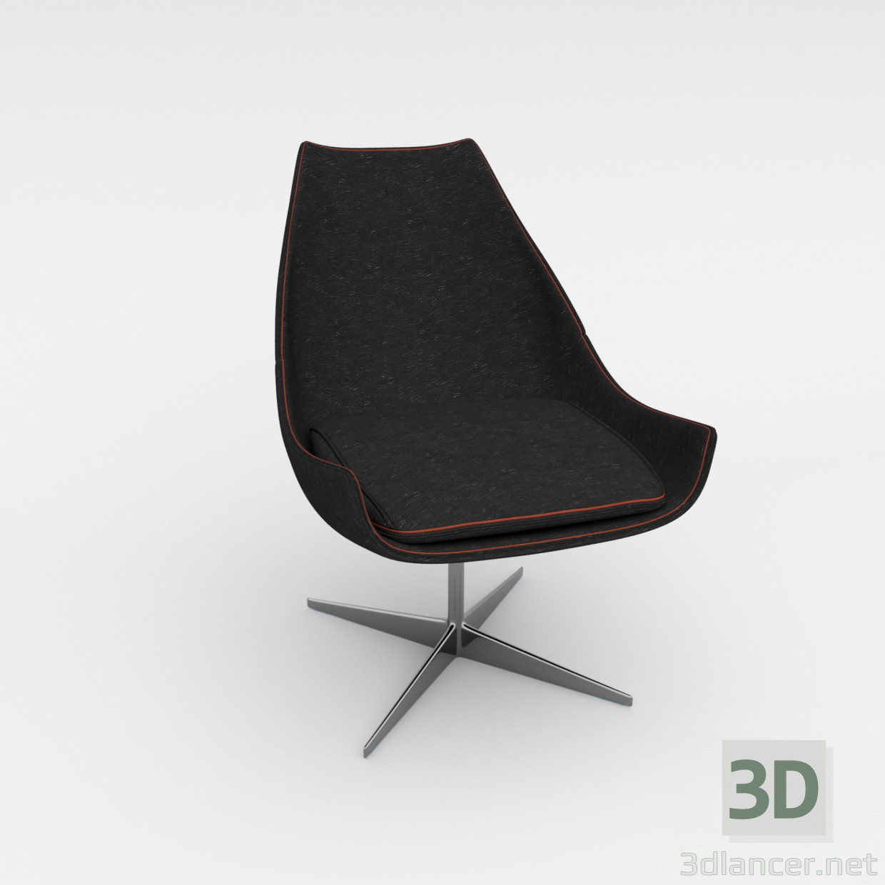 Sessel 3d 3d Modell Desiree Ego Sessel