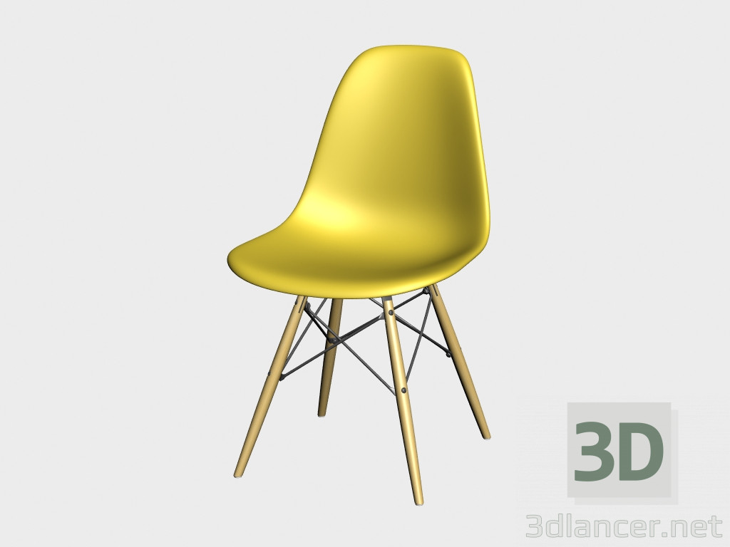 Sedia Eames Dws Download Gratuito Di Modello 3d Sedia Eames Plastic Side Chair Dsw