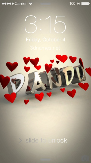 Cute Love Animations Wallpapers Preview Of In Love For Name Pandu