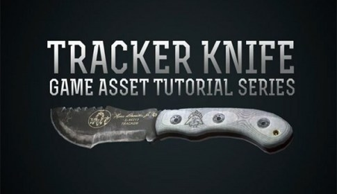 Tracker Knife Game Asset Tutorial