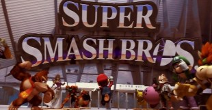 Super Smash Bros. - Mario Jumps into Battle! Fan Trailer - マリオが商店街に登場!ファンメイドトレーラー!メイキング記事も注目!