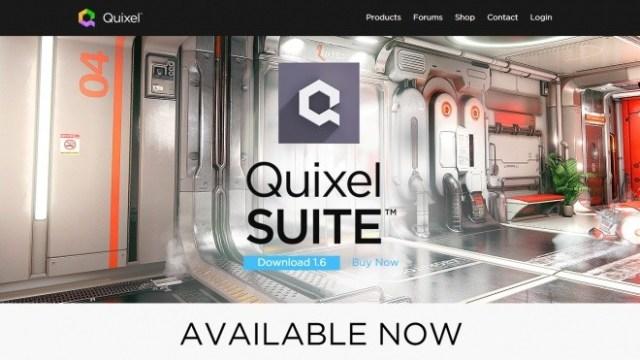 Quixel SUITE 1.6 Available Now - Photoshopを大幅拡張する高品質テクスチャ作成補助ツール!ベータ期間が終了し正式リリース!