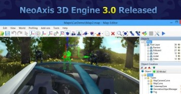 NeoAxis 3D Engine 3.0 Released