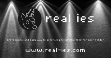 Real IES - 各種レンダラーやUE4等でも使用出来る照明器具(ライト)の照度データを生成出来るスタンドアロンツールが登場!