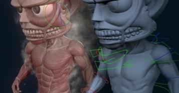 Attack on Titan - 3D Fan Art Maya Rig