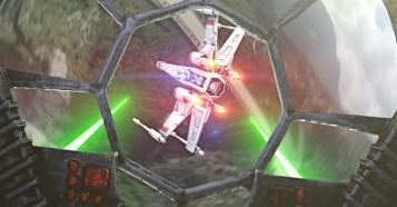 Drone Star Wars - ドローンによる空撮映像でスターウォーズ空中戦!CorridorDigitalの新作映像!