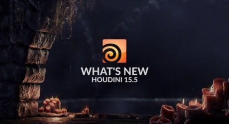 Houdini 15.5 - モデリング&群衆機能大幅強化!VRカメラ対応など!SideFXの統合型3Dソフトウェア新バージョンがリリース!