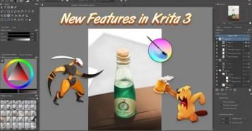 Krita 3.0 - アニメーション機能も追加された無料の高機能2Dペイントソフトウェア!メジャーアップデート!Kickstarterも始動中!
