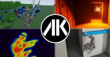 UE4 Adventure Kit - 基礎要素盛りだくさん!?アンリアルエンジン4用アドベンチャーゲームキット!