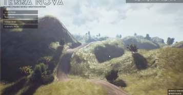 Terra Nova - Unreal Engine 4 を使ったインゲーム地形生成システム!プロジェクトデータも販売中!