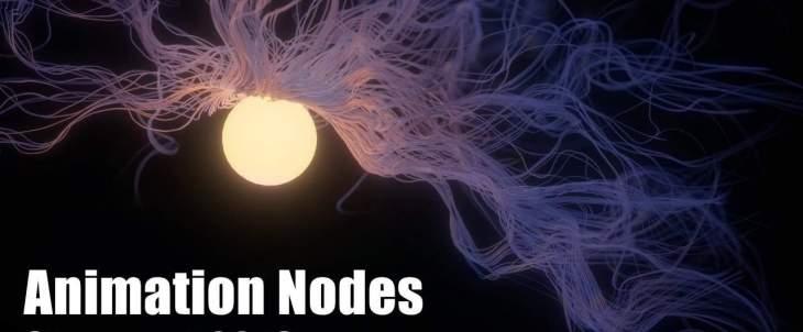 Animation Nodes Showreel 2016 - ノードベースのビジュアルスクリプトによるモーショングラフィックスを可能にするBlenderアドオン!最新ショーリール!