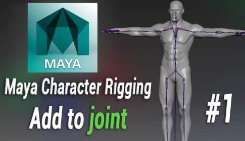hideaki Maya Rigging Tutorial - まったり日本語で学べる!ひであき氏によるMaya人体リギングチュートリアル映像!挫折した人必見!