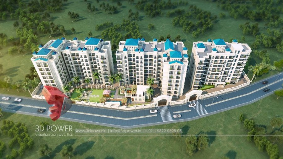 best-architectural-rendering-services-apartment-birds-eye-view