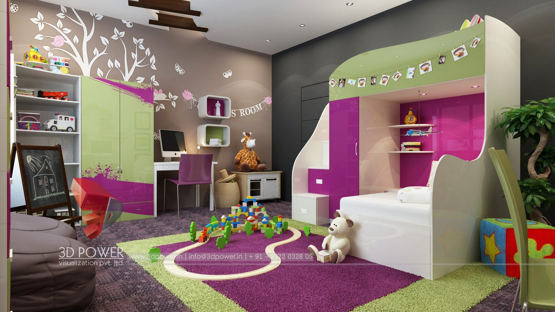 Interior Decoration 3d Interior Design And Rendering Services Bungalow And Home