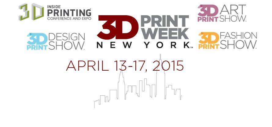 3D Print Week New York Brings 3D Printing to the Big Apple This - printing tickets for events free