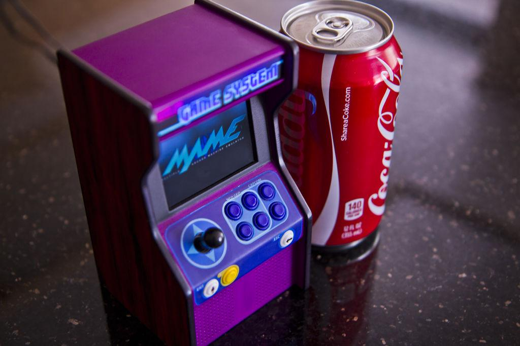 3d Wallpaper Printing Machine 3d Print And Wire Your Own Functioning Mini Arcade