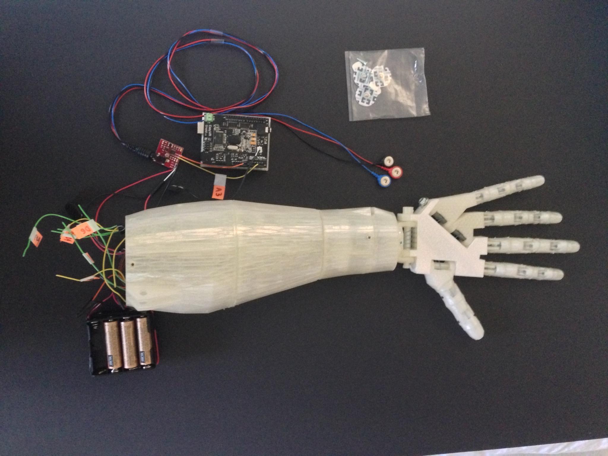 3d Printing Wallpaper Hd High School Student 3d Prints Voice Controlled Robotic Arm