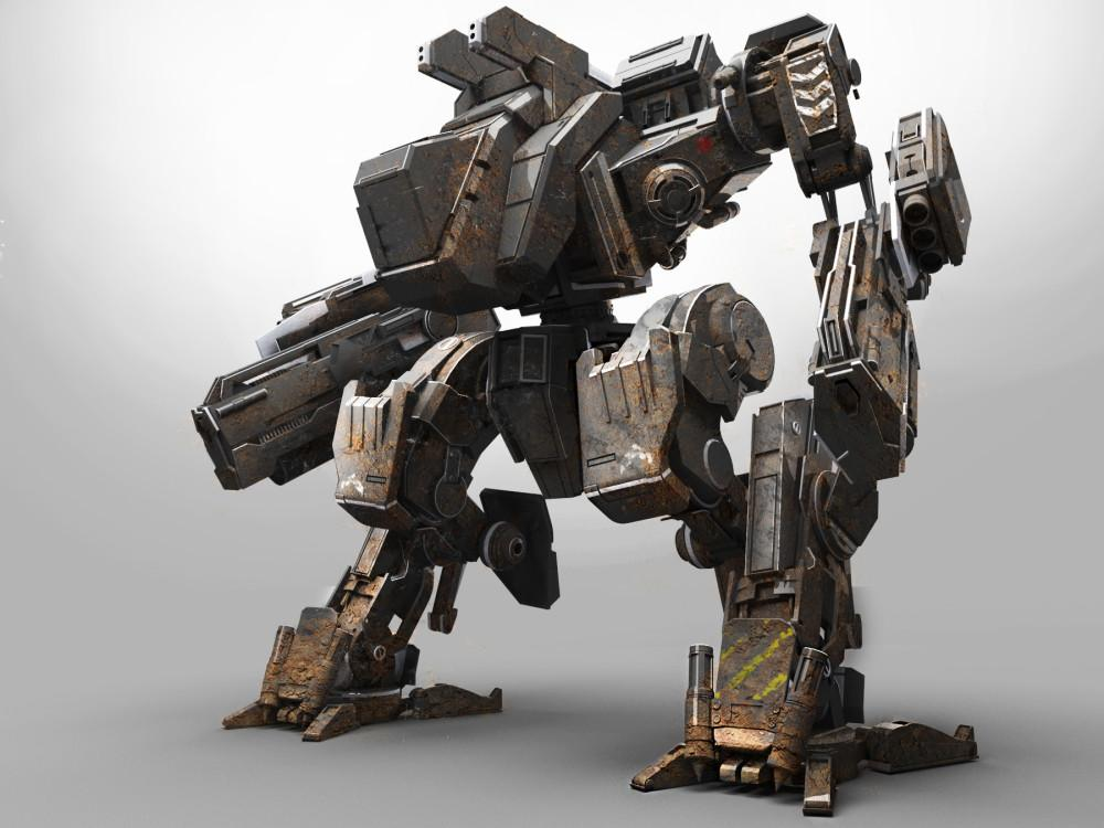 Fall Cell Phone Wallpaper This Awesome 3d Printed Mech Is Made Of 129 Individual