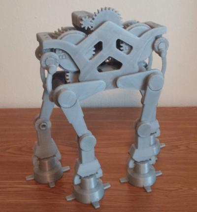 This 3D Printed Walking AT-AT is the Star Wars Toy of your Dreams | 3DPrint.com | The Voice of ...