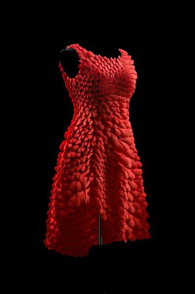 Nervous System Unveils New 3D Printed Kinematics Petal Dress | 3DPrint.com | The Voice of 3D ...