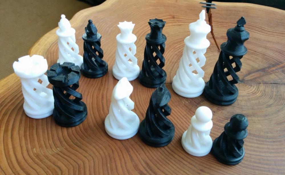 Weekly Roundup Ten 3D Printable Chess Sets 3DPrint The